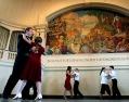 Dancing performance at City Hall's Kyrouz Auditorium